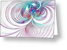Tendrils 02 Greeting Card by Amanda Moore