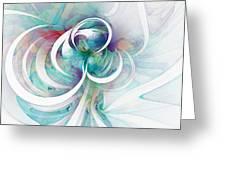 Tendrils 03 Greeting Card by Amanda Moore
