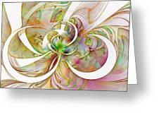 Tendrils 06 Greeting Card by Amanda Moore