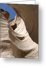 Tent Rocks Greeting Card by Steven Ralser