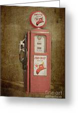 Texaco Fire Chief Greeting Card by Bob and Nancy Kendrick