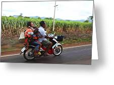 Thailand Transportation - 01131 Greeting Card by DC Photographer