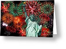 The 4th Of July Greeting Card by Anthony Sacco