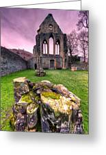 The Abbey Greeting Card by Adrian Evans