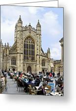 The Abby At Bath Greeting Card by Mike McGlothlen