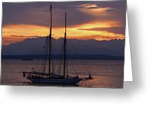 The Adventuress Cruise Greeting Card by Kym Backland