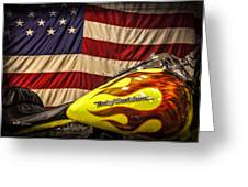 The American Ride Greeting Card by Jeff Swanson