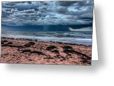The Approaching Storm Greeting Card by Matt Dobson