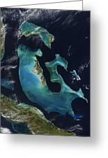 The Bahamas Greeting Card by Adam Romanowicz