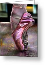 The Ballerina Greeting Card by Reggie Duffie