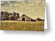 The Barn 2 Greeting Card by Cheryl Young