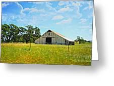 The Barn Greeting Card by Cheryl Young