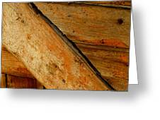 The Barn Door Greeting Card by William Jobes