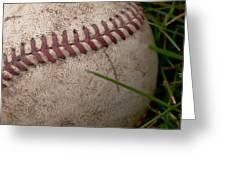 The Baseball Greeting Card by David Patterson