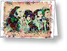 The Beatles 10 Greeting Card by MB Art factory