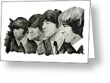 The Beatles 2 Greeting Card by MB Art factory