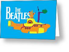 The Beatles No.11 Greeting Card by Caio Caldas
