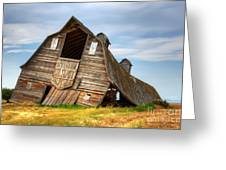 The Beauty Of Barns  Greeting Card by Bob Christopher