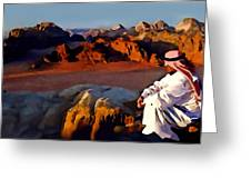 The Bedouin Greeting Card by Jann Paxton