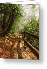 The Benton Trail Greeting Card by Debra and Dave Vanderlaan