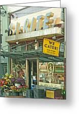 The Bi Rite In San Francisco Greeting Card by Artist and Photographer Laura Wrede