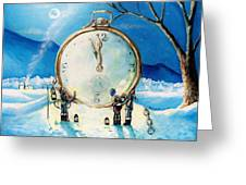 The Big Countdown Greeting Card by Shana Rowe