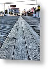The Boardwalk Greeting Card by JC Findley