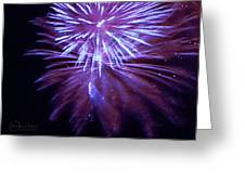 The Bombs Bursting In Air Greeting Card by Robert ONeil