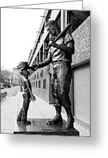 The Boston Legend Greeting Card by Greg Fortier