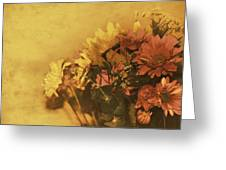The Bouquet Greeting Card by Diane Schuster