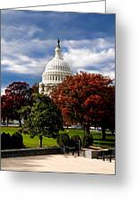The Capitol Greeting Card by Greg Fortier