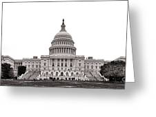 The Capitol Greeting Card by Olivier Le Queinec