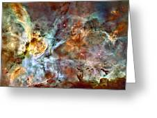 The Carina Nebula Greeting Card by Ricky Barnard