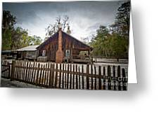 The Chesser Homestead Greeting Card by M J Glisson