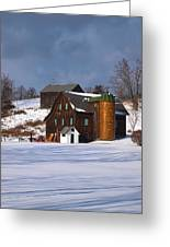 The Christmas Barn Greeting Card by Joshua House