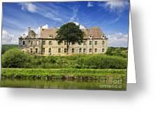 The Cistercian Abbey De Bon Repos Cotes D'armor Brittany France Greeting Card by Jon Boyes