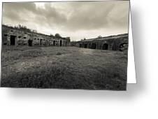 The Citadel At Fort Macomb Greeting Card by David Morefield
