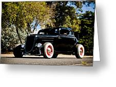 The Classic Hot Rod Greeting Card by motography aka Phil Clark