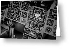 The Cockpit  Greeting Card by Douglas Barnard