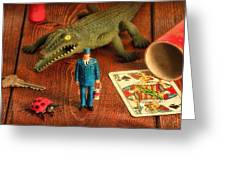 The Collection Greeting Card by Jeff  Gettis