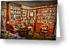 The Country Doctor Greeting Card by Paul Ward