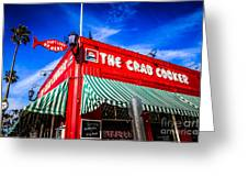 The Crab Cooker Newport Beach Photo Greeting Card by Paul Velgos