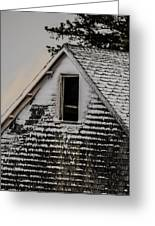 The Crows Nest Greeting Card by Susan Capuano