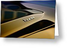 The Cuda Greeting Card by Phil 'motography' Clark