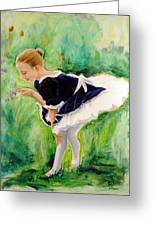 The Dancer Greeting Card by Sheila Diemert