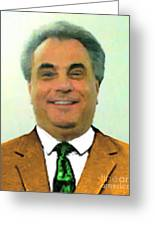The Dapper Don 20130812 Greeting Card by Wingsdomain Art and Photography