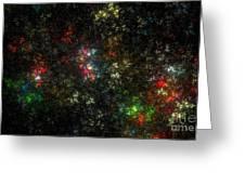 The Dark Side Of Monet Greeting Card by Peter R Nicholls