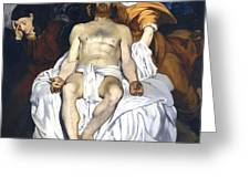 The Dead Christ With Angels Greeting Card by Edouard Manet