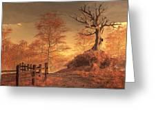 The Dead Tree Greeting Card by Daniel Eskridge
