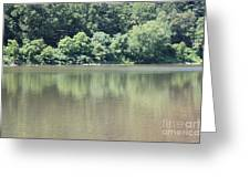 The Delaware Water Gap Greeting Card by John Telfer